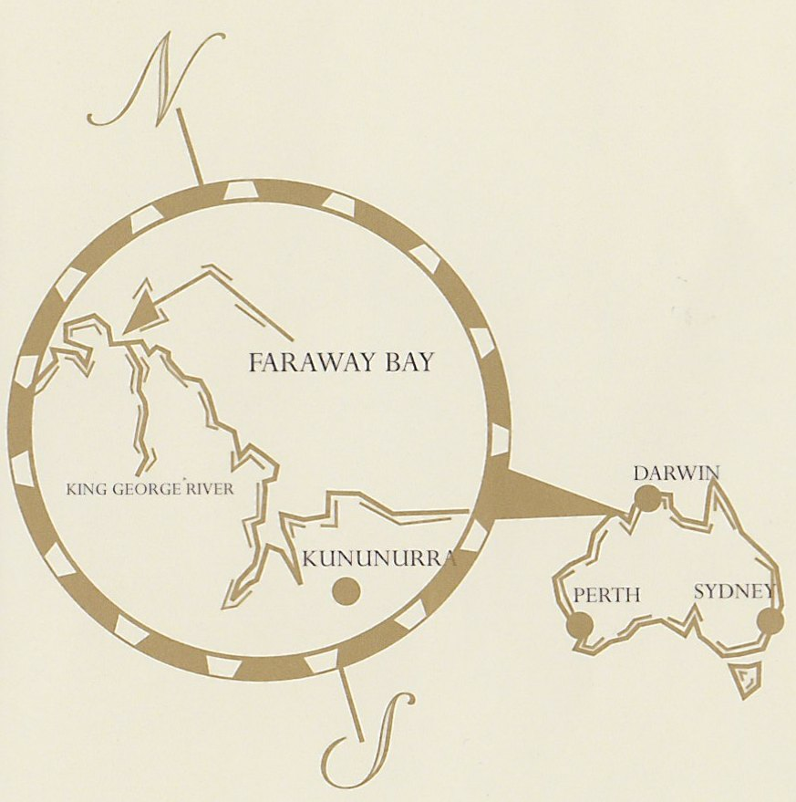 Faraway Bay Location Map