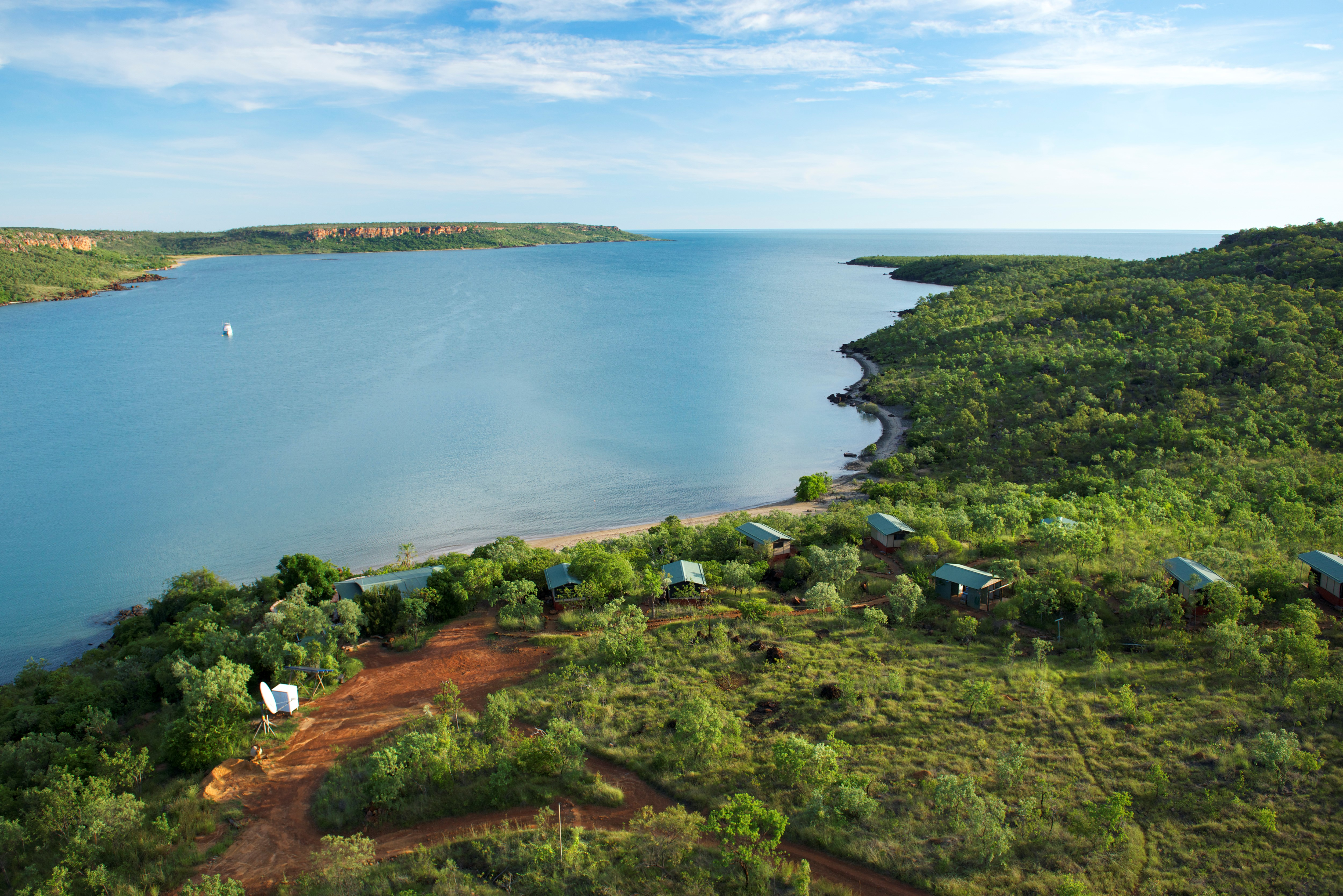 Faraway Bay from above – Ben's photo