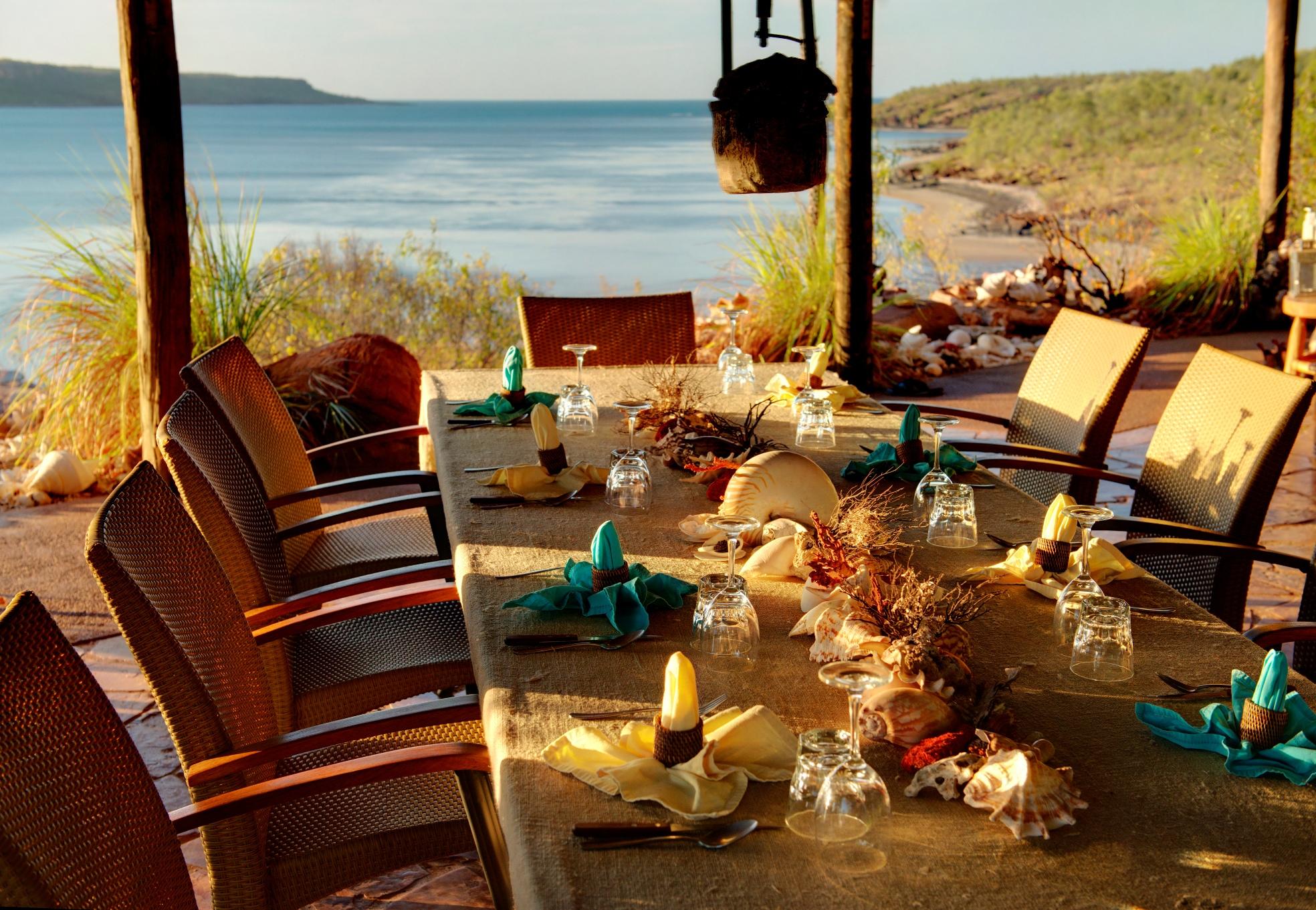 Wine dine and unwind at Eagle lodgeFaraway Bay