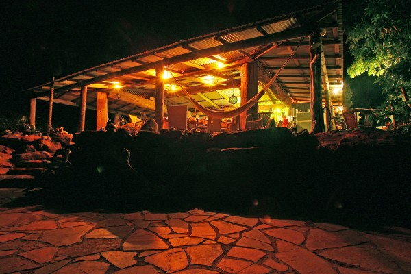 Eagle Lodge has been upgraded with the new indulgent Quoll Bar bar and lounge. Picture: Nathan Dyer.