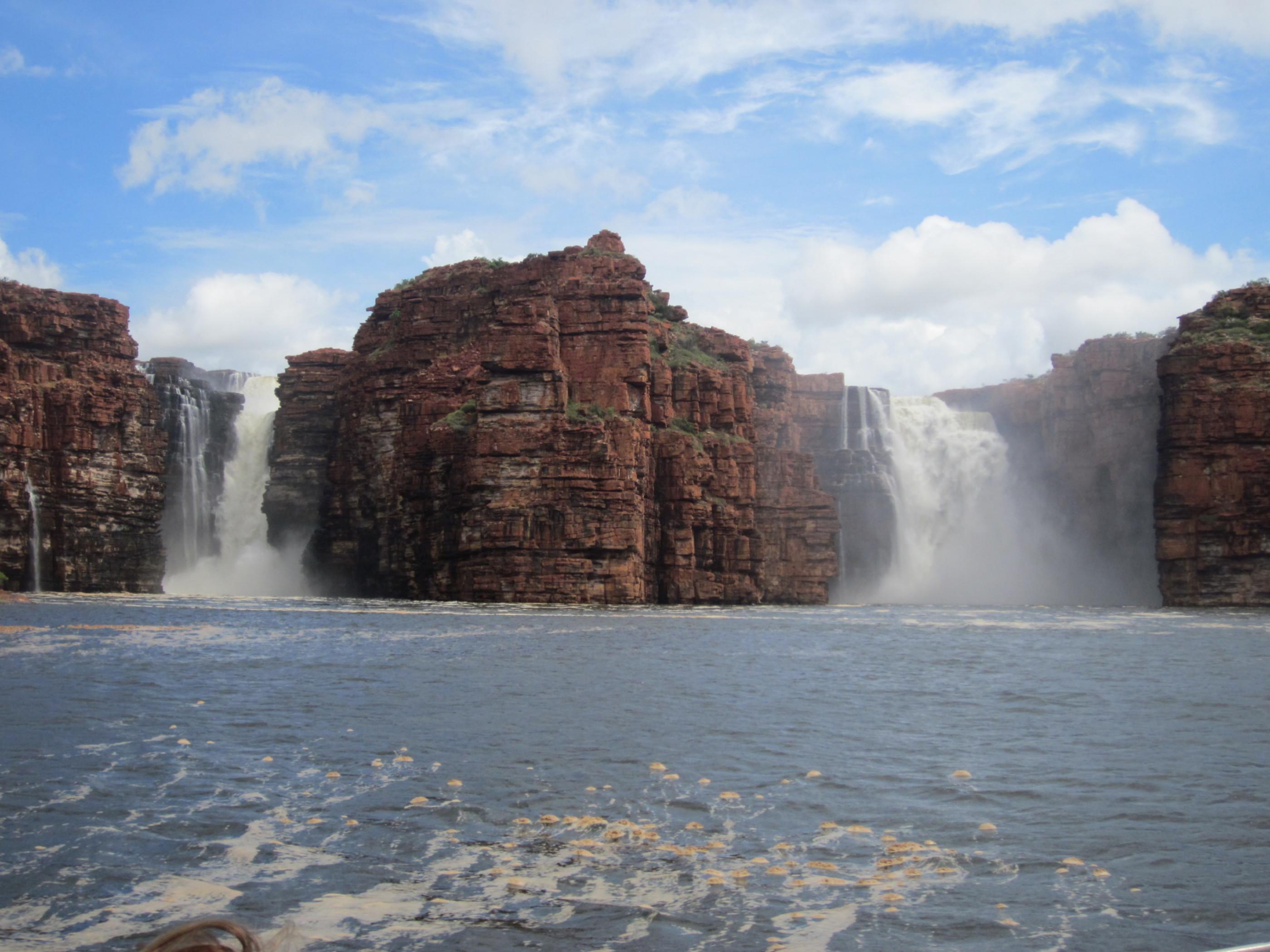 KGFalls wa tallest Falls beginning of season