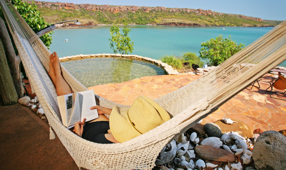 Rest and relaxation, Faraway Bay style