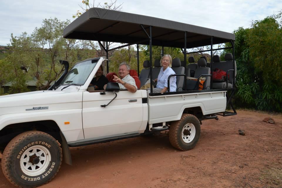 Outback retreat team