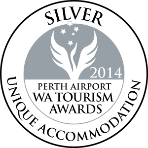 WA Tourism Awards - Silver Medal
