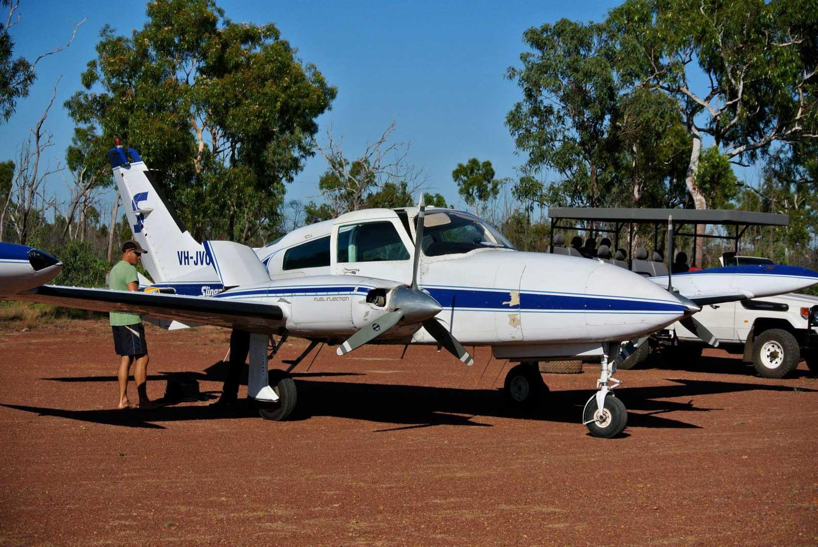 Arrive-via-Charter-Plane