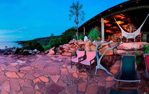 Eagle Lodge sunset