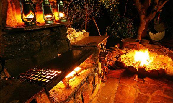Eagle Lodge camp oven