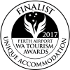 Finalist 2017 Perth Airport WA Tourism Awards