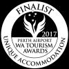 Finalist 2017 Perth Airport WA Tourism Awards