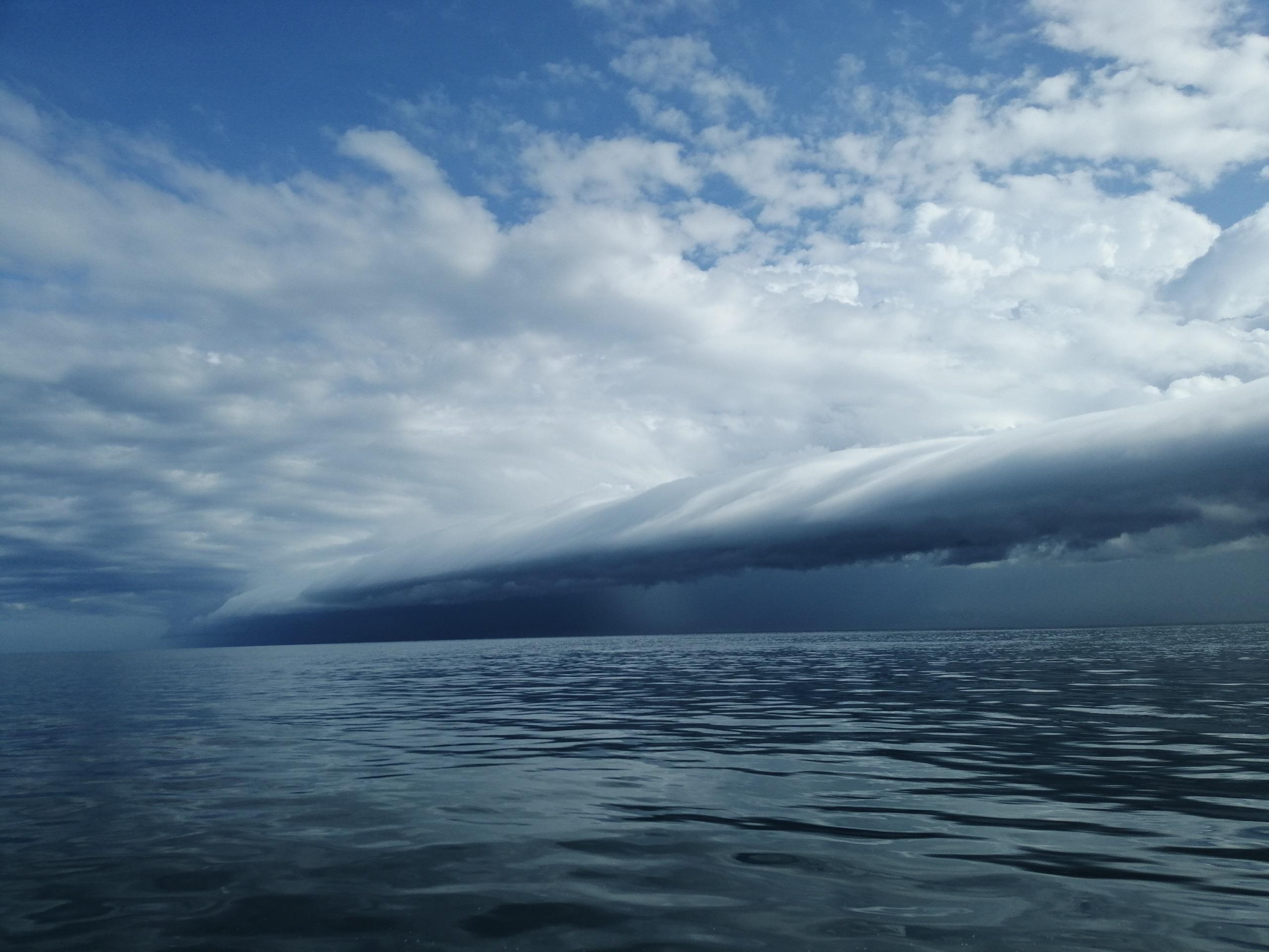 Wet Season Storm Clouds March 2019